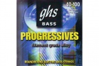 Струны для бас гитары GHS L8000 Light Progressives