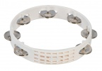 "Тамбурин LATIN PERCUSSION A182 Aspire® 8"" Plastic Tambourine White"